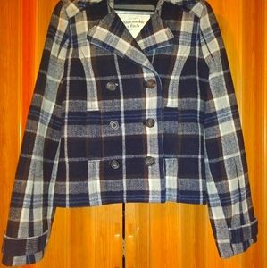 Abercrombie & Fitch Women's Plaid Wool